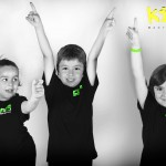 children excited for kidz martial arts